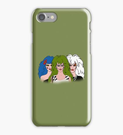 Jem and The Holograms -  The Misfits - Green - Tablet & Phone Cases iPhone Case/Skin