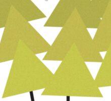 Trees. Sticker
