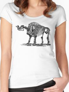 Brontops Robustus Women's Fitted Scoop T-Shirt