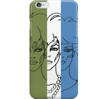 Jem and The Holograms - The Misfits Striped - Color iPhone Case/Skin