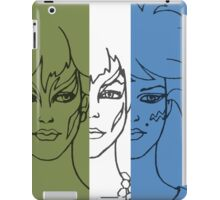 Jem and The Holograms - The Misfits Striped - Color iPad Case/Skin