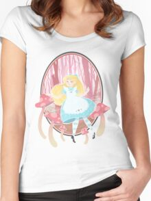 Alice's Wonders Women's Fitted Scoop T-Shirt