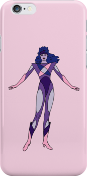 Jem and The Holograms - Synergy #2 Pink - Tablet & Phone Cases by DGArt