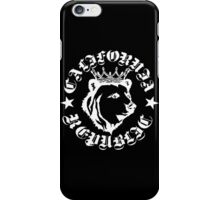 Kris Alan CA republic white iPhone Case/Skin
