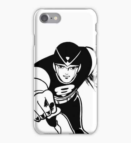 8 Man - Line Art - Large - Table & Phone Cases iPhone Case/Skin
