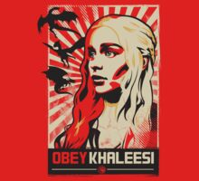 Obey Khaleesi by Tom Trager