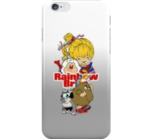 Rainbow Brite - Group Logo #1 - Color  iPhone Case/Skin