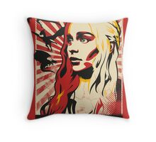 Obey Khaleesi Throw Pillow
