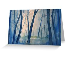 Nel bosco Greeting Card