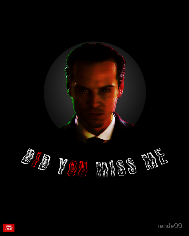 """Moriarty ""did you miss me?"""" by rende99 