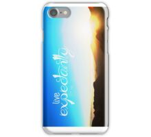 Live Expectantly iPhone Case/Skin