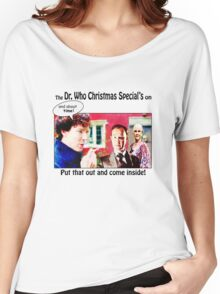 The Only Real Cure for Christmas Boredom Women's Relaxed Fit T-Shirt