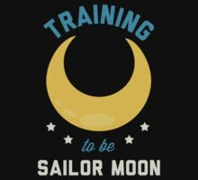 Training to be Sailor Moon. by printproxy