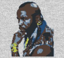 8-bit Mr T by Nasherr