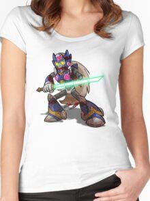 Zombie Zero (Megaman) Women's Fitted Scoop T-Shirt