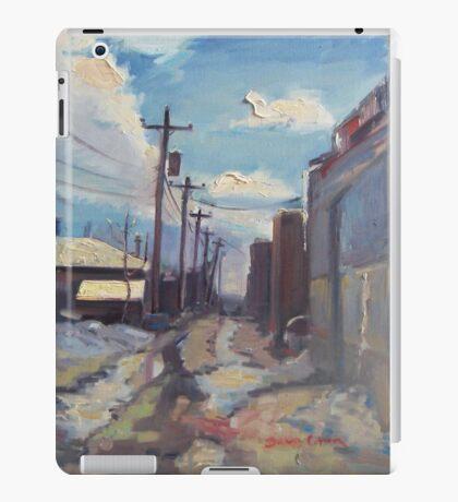 Behind the City of Craig iPad Case/Skin