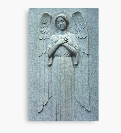 Angel Within a Wall Canvas Print