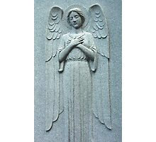 Angel Within a Wall Photographic Print