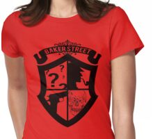Baker Street Black Womens Fitted T-Shirt