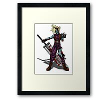Zombie Cloud (Final Fantasy VII) Framed Print
