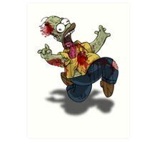 Zombie Homer (The Simpsons) Art Print