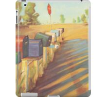 Mail Boxes iPad Case/Skin