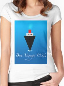 Bon Voyage Women's Fitted Scoop T-Shirt