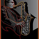 JOHN COLTRANE JAZZ LEGEND by Larry Butterworth