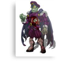 Zombie M Bison (Street Fighter) Metal Print