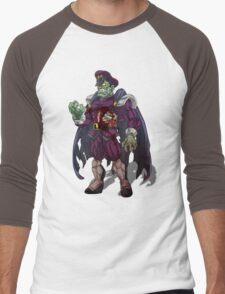 Zombie M Bison (Street Fighter) Men's Baseball ¾ T-Shirt