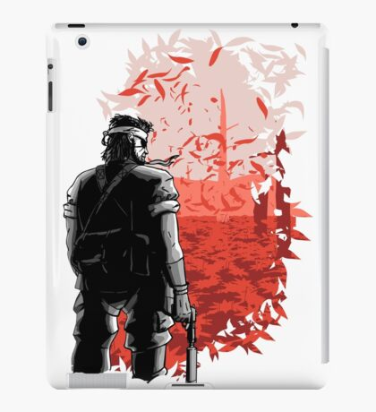 Big Boss Red  iPad Case/Skin