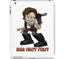 Han Shot First  iPad Case/Skin