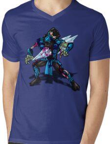 Zombie Sub Zero Mens V-Neck T-Shirt