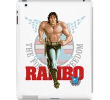 Rambo - Logo #3 - Color iPad Case/Skin