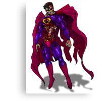 Zombie Superman Canvas Print