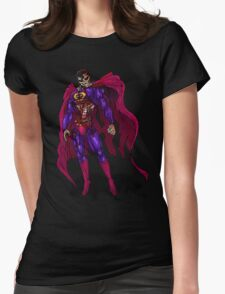 Zombie Superman Womens Fitted T-Shirt
