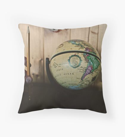 It's a small world. Throw Pillow
