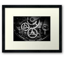The inner workings Framed Print