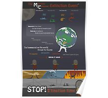 M/C Extinction Poster