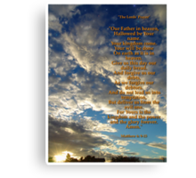 The Lord's Prayer Canvas Print