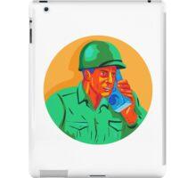 World War Two Soldier American Talk Radio WPA iPad Case/Skin