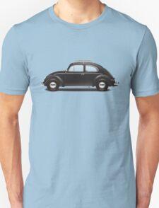 1953 Volkswagen Beetle Sedan - Black Unisex T-Shirt