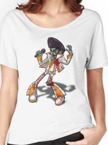 Zombie Elvis Women's Relaxed Fit T-Shirt