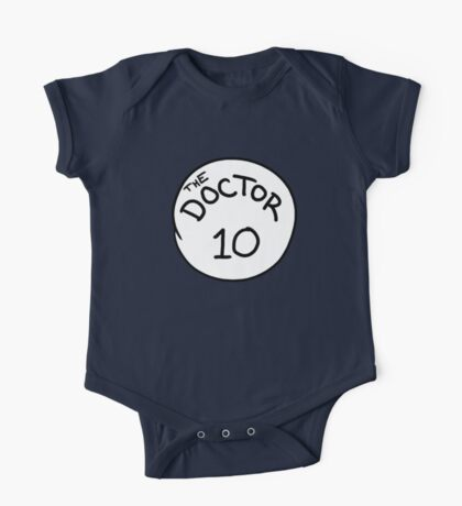 Doctor 10 One Piece - Short Sleeve