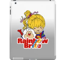 Rainbow Brite - Group - Rainbow & Twink - Large - Color iPad Case/Skin
