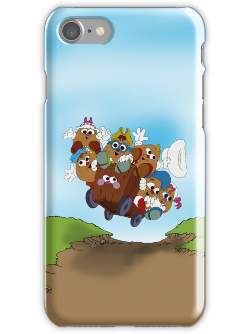 Potato Head Kids - Group - Tablet & Phone Cases by DGArt