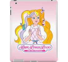 Lady Lovely Locks and the Pixietails - Logo - Color iPad Case/Skin