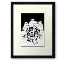 The Ruins of Space Framed Print