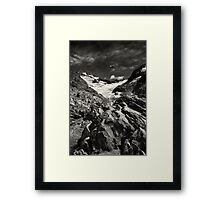 Mountain Landscape in Patagonia Framed Print
