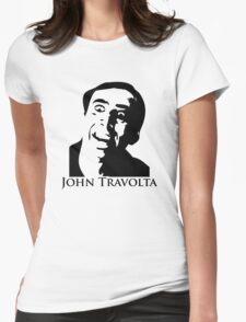 John Travolta Womens Fitted T-Shirt